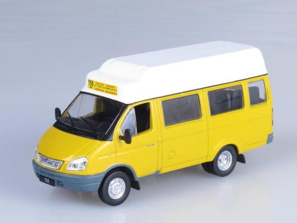 """Изображение модели ГАЗ-322133 """"ГАЗель"""" Маршрутное такси журнала """"Автомобиль на службе"""""""