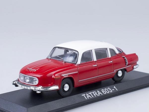 """Изображение модели Tatra 603 журнала """"Автолегенды СССР"""""""
