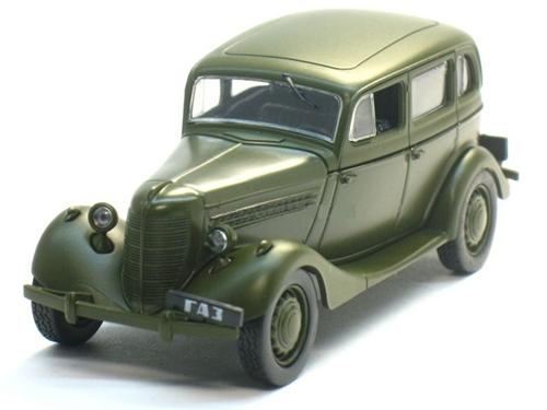 """Изображение модели ГАЗ 11-73 журнала """"Автолегенды СССР"""""""