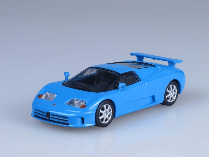 """Изображение модели Bugatti EB110 журнала """"Суперкары. Лучшие автомобили мира"""""""