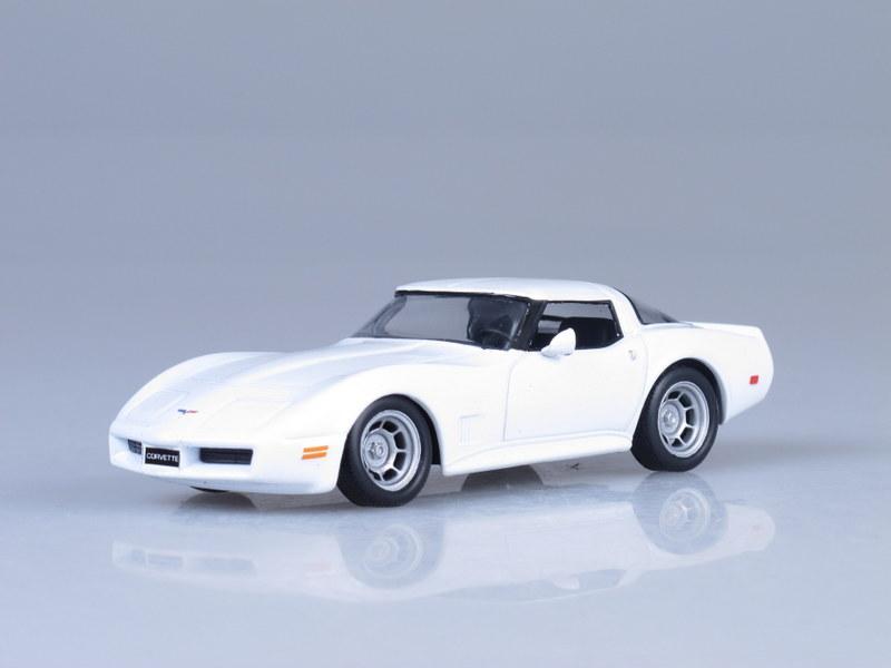 """Изображение модели Chevrolet Corvette Stingray 1973 журнала """"Суперкары. Лучшие автомобили мира"""""""