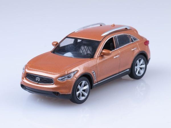 """Изображение модели Infiniti FX35 журнала """"Суперкары. Лучшие автомобили мира"""""""