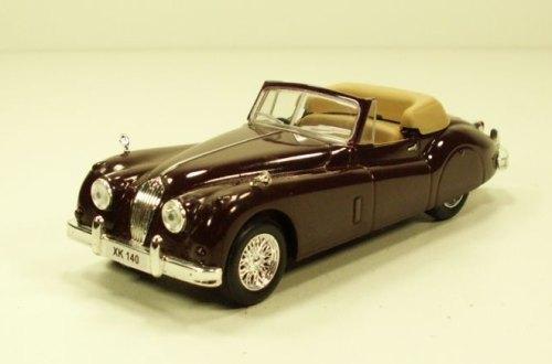 """Изображение модели Jaguar XK 140 журнала """"Суперкары. Лучшие автомобили мира"""""""