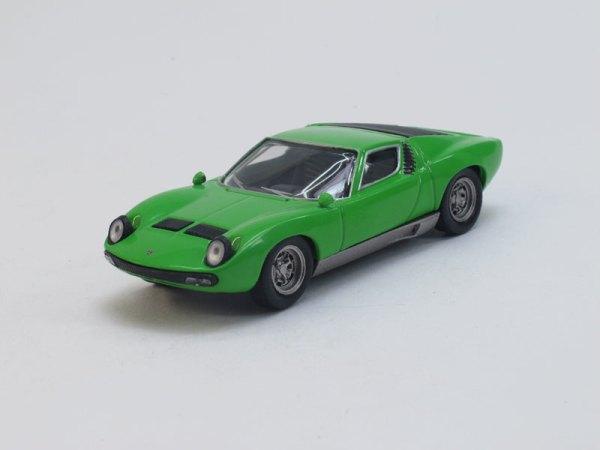 """Изображение модели Lamborghini P400 Miura журнала """"Суперкары. Лучшие автомобили мира"""""""