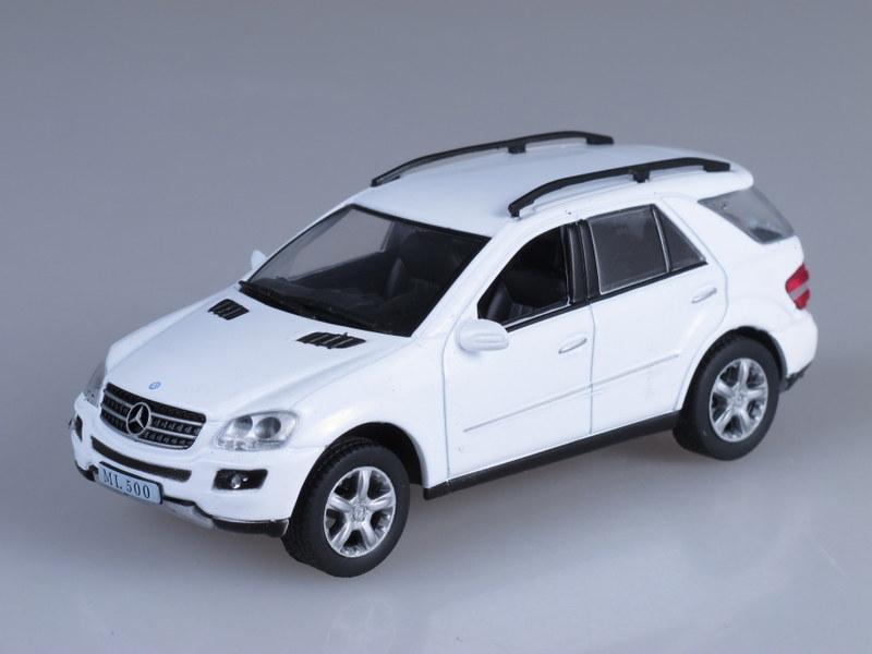 """Изображение модели Mercedes-Benz ML500 журнала """"Суперкары. Лучшие автомобили мира"""""""