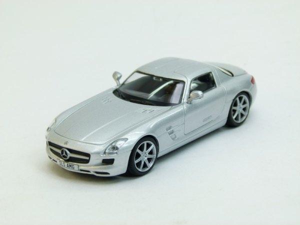 """Изображение модели Mercedes SLS AMG журнала """"Суперкары. Лучшие автомобили мира"""""""