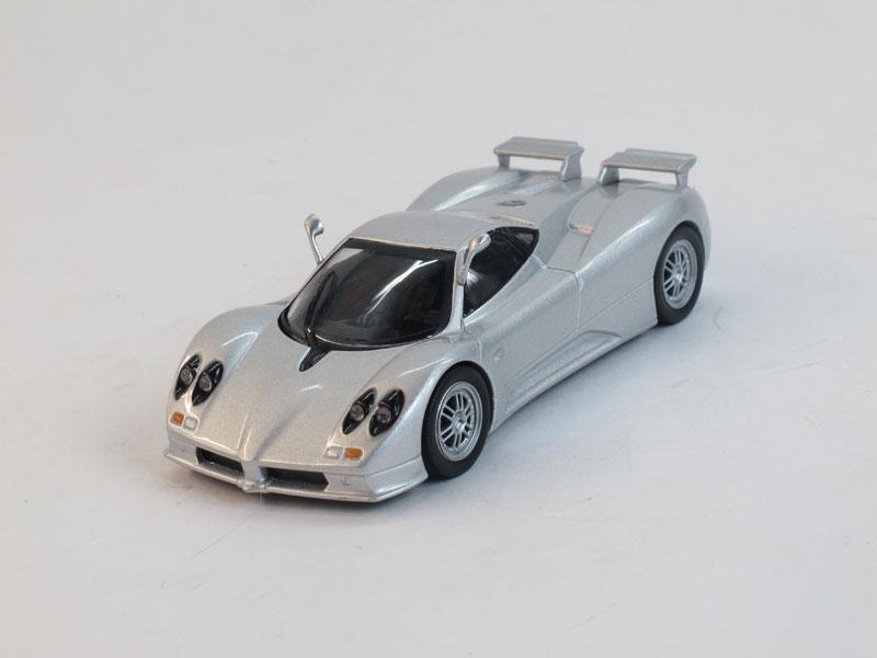 """Изображение модели Pagani Zonda C12S журнала """"Суперкары. Лучшие автомобили мира"""""""