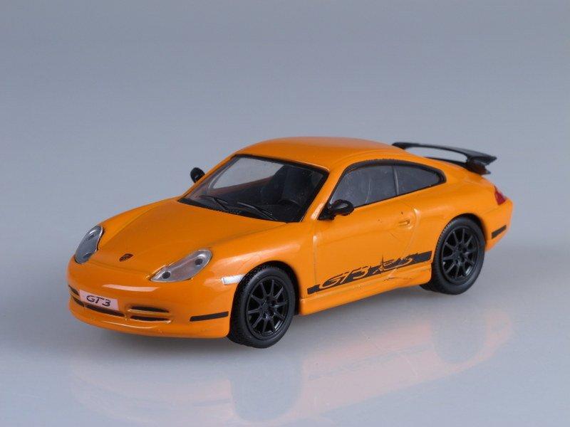 """Изображение модели Porsche 911 GT3 журнала """"Суперкары. Лучшие автомобили мира"""""""