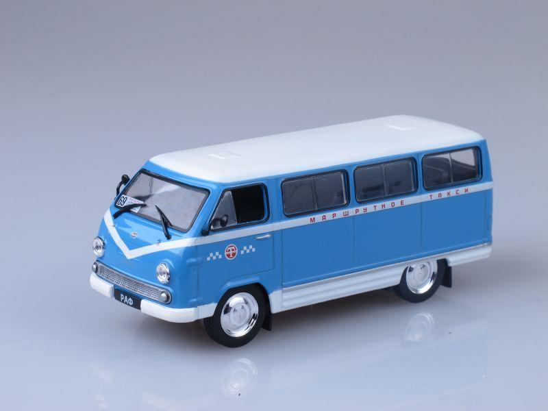"""Изображение модели РАФ-977ДМ Маршрутное такси журнала """"Автомобиль на службе"""""""