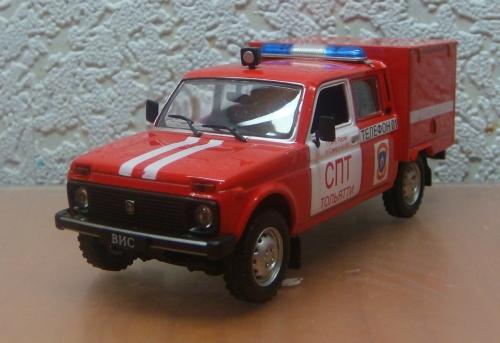 """Изображение модели ВИС-294611 Пожарный журнала """"Автомобиль на службе"""""""