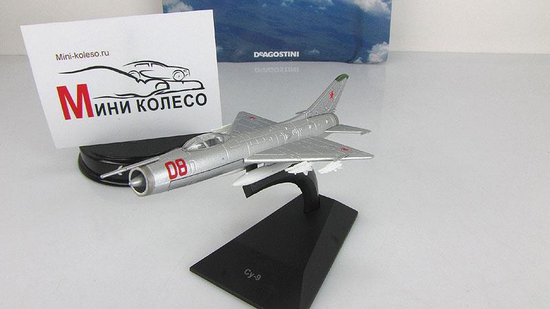 """Изображение модели Су-9 журнала """"Легендарные самолеты"""""""