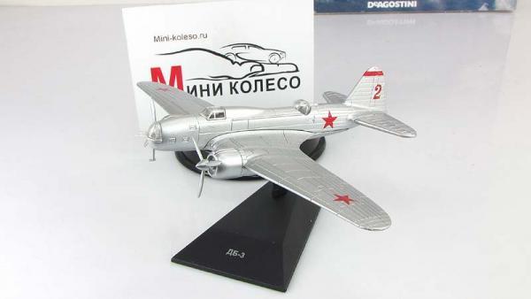 """Изображение модели ДБ-3 журнала """"Легендарные самолеты"""""""