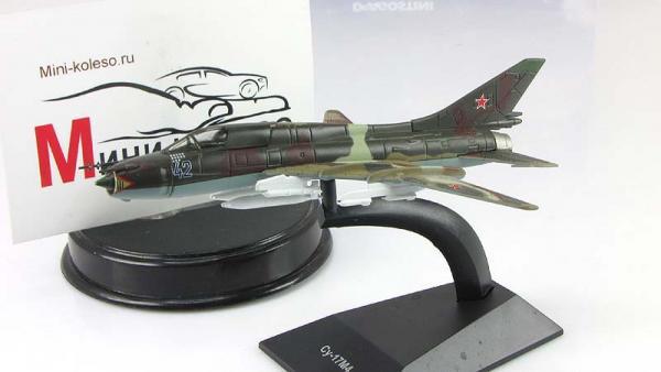 """Изображение модели Су-17М4 журнала """"Легендарные самолеты"""""""
