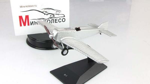 """Изображение модели И-1 журнала """"Легендарные самолеты"""""""