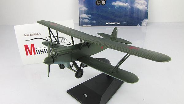 """Изображение модели Р-5 журнала """"Легендарные самолеты"""""""