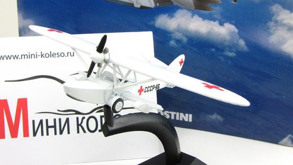 """Изображение модели Ш-2 журнала """"Легендарные самолеты"""""""