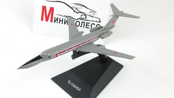 """Изображение модели Ту-134УБЛ журнала """"Легендарные самолеты"""""""
