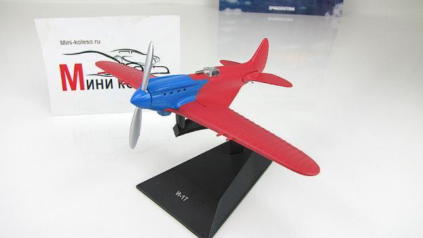 """Изображение модели И-17 журнала """"Легендарные самолеты"""""""