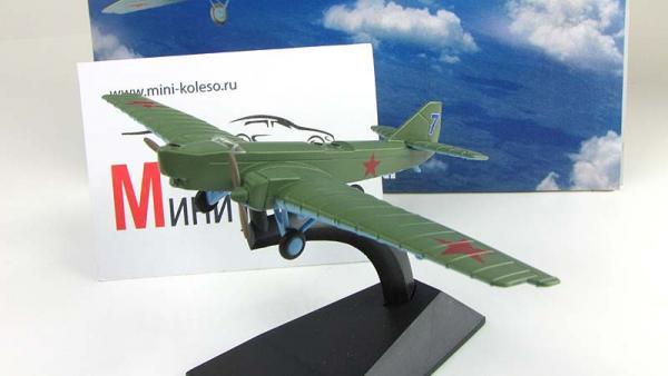 """Изображение модели ТБ-1 журнала """"Легендарные самолеты"""""""