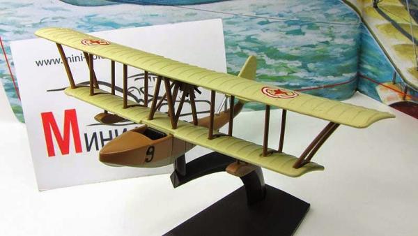 """Изображение модели М-5 журнала """"Легендарные самолеты"""""""