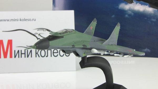 """Изображение модели МиГ-35 журнала """"Легендарные самолеты"""""""