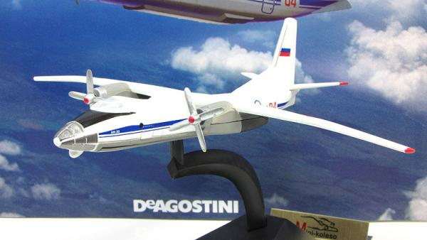 """Изображение модели Ан-30 журнала """"Легендарные самолеты"""""""