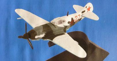 """Изображение модели Лагг-3 журнала """"Легендарные самолеты"""""""