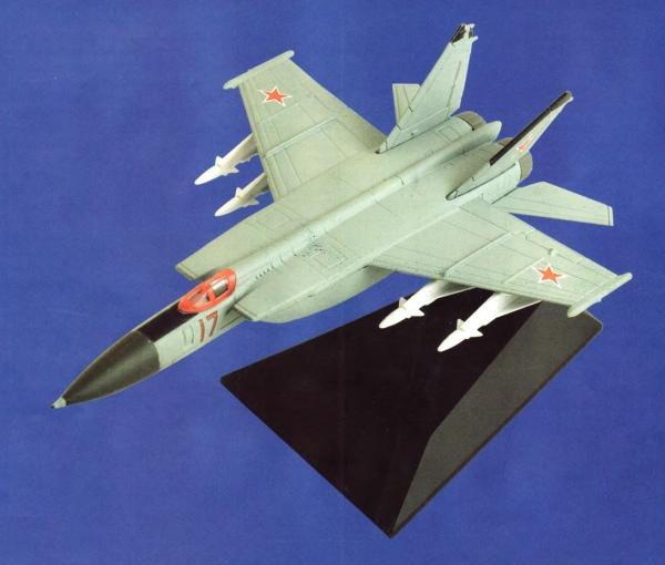 """Изображение модели МиГ-25П журнала """"Легендарные самолеты"""""""