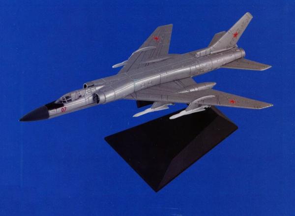 """Изображение модели Ту-128 журнала """"Легендарные самолеты"""""""