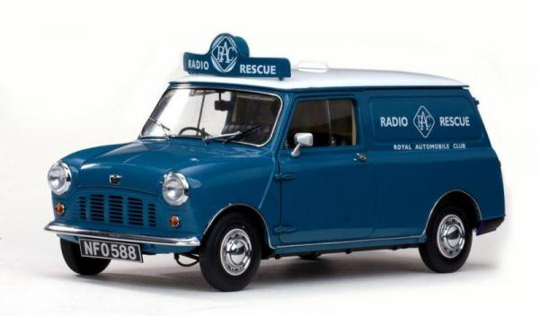 1960 Morris Mini van – RAC (Sunstar) [1960г., Сине-Белый, 1:12]