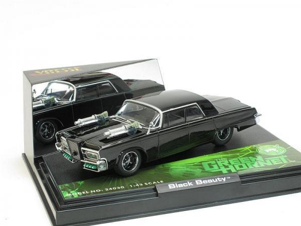 Chrysler Imperial «Black Beauty» (The Green Hornet) (из к/ф «Зелёный Шершень») (Vitesse) [1964г., Черный, 1:43]