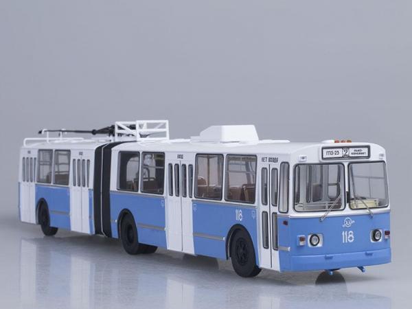 ЗиУ-10 (ЗиУ-683) троллейбус (Start Scale Models (SSM)) [1986г., Белый с голубым, 1:43]