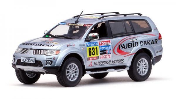 Mitsubishi Pajero Sport, 2010 Dakar Rally (Vitesse) [2008г., Серый, 1:43]