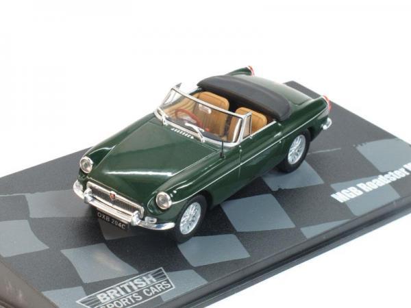 MGB Roadster MKII (Altaya) [1968г., Темно-зеленый, 1:43]