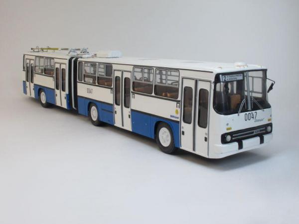Икарус-СВАРЗ 283 (Vector-Models) [1988г., Бело-голубой, 1:43]