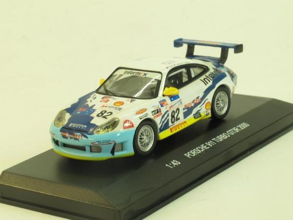 Porsche 911 GTR3R №82 (PotatoCar) [2000г., Белый, 1:43]