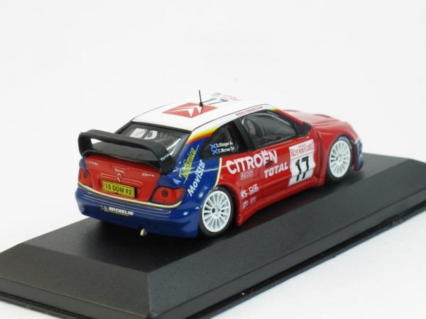 Citroen Xsara WRC №17 Rally Monte-Carlo (Colin McRae -Derek Ringer) 2003 (Altaya) [2000г., Красный, синий, белый, 1:43]