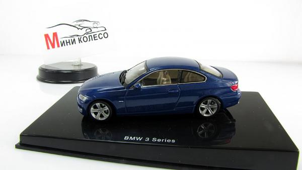 BMW 3-SERIES COUPE (Autoart) [2005г., Синий, 1:43]