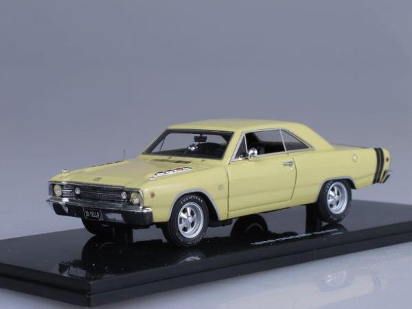 Dodge Dart GTS (Highway 61) [1968г., Желтый, 1:43]
