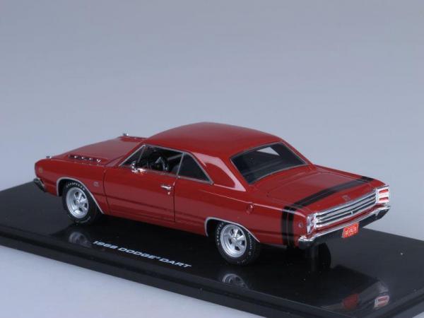 Dodge Dart GTS (Highway 61) [1968г., Красный, 1:43]