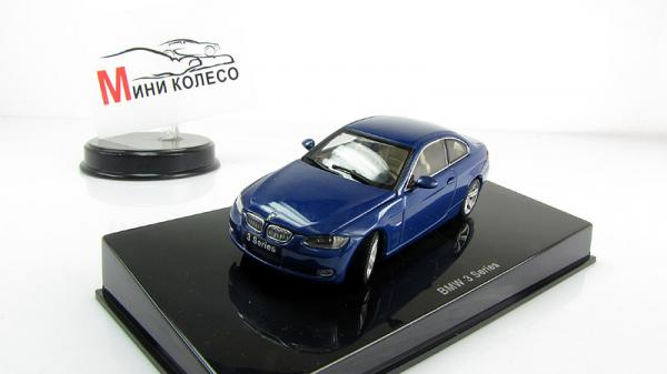 BMW 3-SERIES COUPE (Autoart) [2005г., Синий, 1:43]