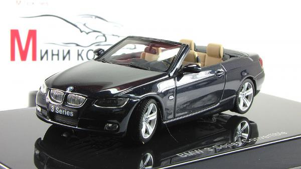 BMW 3-SERIES CONVERTIBLE (Autoart) [2007г., Синий, 1:43]