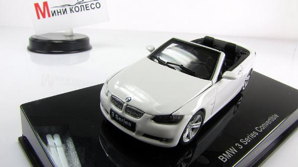 BMW 3-SERIES CONVERTIBLE (Autoart) [2007г., Белый, 1:43]