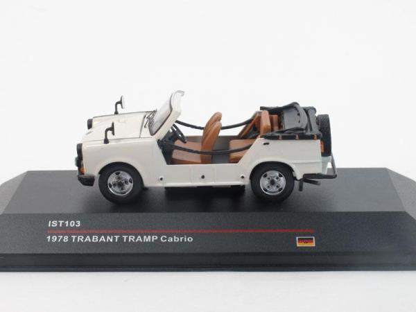 Trabant TRAMP Cabrio (IST Models) [1978г., Белый, 1:43]