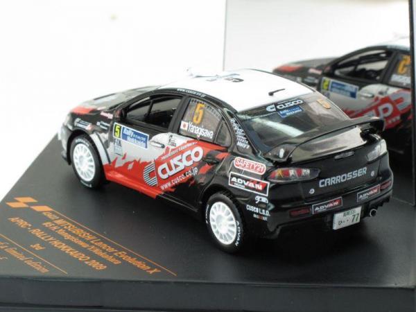 Mitsubishi Lancer Evolution X - #5 H.Yanagisawa/y.Nakahara (Vitesse) [2007г., Черный, 1:43]