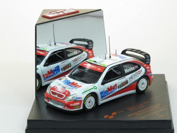 Citroen Xsara WRC #8 Kris Meeke (Vitesse) [1997г., Белый, 1:43]