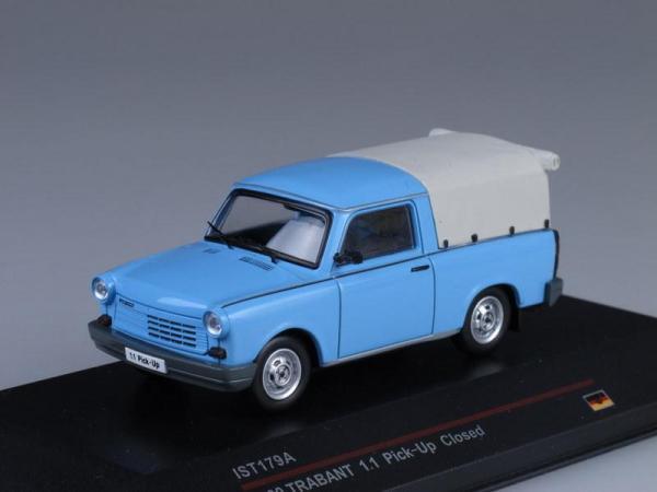 Trabant 1.1 Pick-Up Закрытый (IST Models) [1988г., Голубой, 1:43]