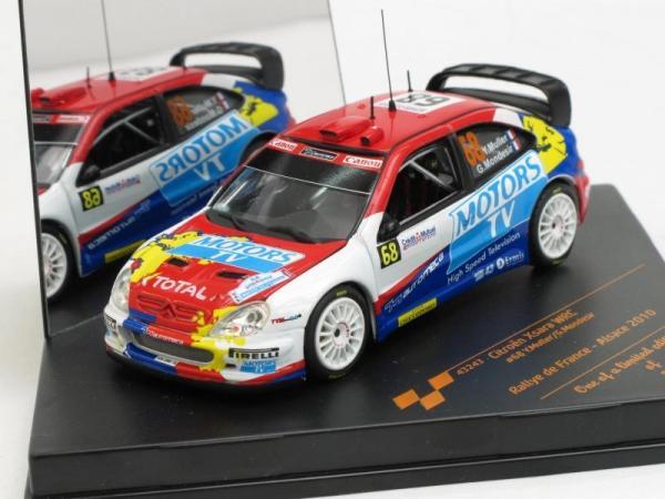 Citroen Xsara WRC Rallye de France - Alsace 2010 (Vitesse) [1997г., Белый, синий, красный, 1:43]