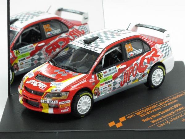 Mitsubishi Lancer Evolution IX #33 M.Prokop/J.Tomahnek (Vitesse) [2005г., Бело-красный, 1:43]