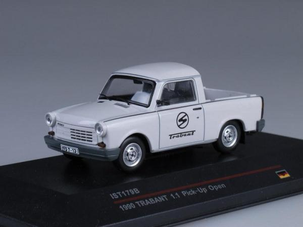 Trabant 1.1 Pick-Up Открытый (IST Models) [1988г., Белый, 1:43]